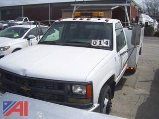 1995 Chevy C/K 3500 Utility Truck