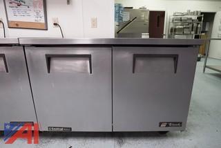 """True TUC-48 - Undercounter Refrigerator - Two Door 48"""" - 12 Cu. Ft."""