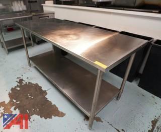 John Boos 6' S/S Prep Table