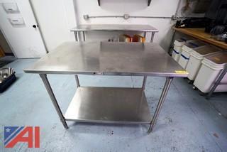 """John Boos 4'x 30"""" S/S Prep Table"""