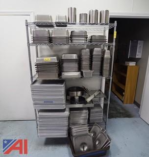 Assortment of Commercial Sheets and Insert Pans
