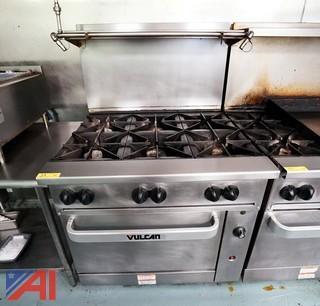"Vulcan 36"" Six Burner Gas Range/Oven"