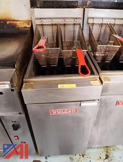 Vulcan Floor Model Gas Deep Fryer