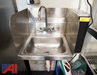 """Select S/S 17"""" Wall Mount Hand Sink"""