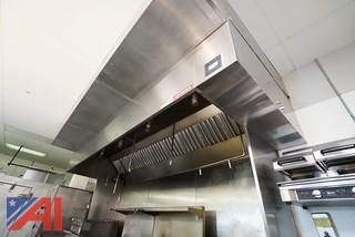 13' Captive Aire Updraft Hood & Fire System