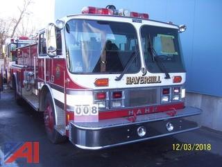 1984 Hahn HCP12 Pumper Truck