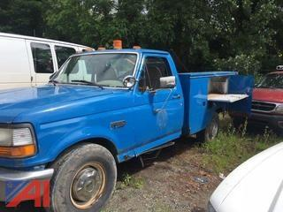 1997 Ford F350 Utility Truck (Parts Truck)