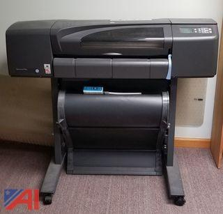 HP Design Jet Color Plotter XL Printer