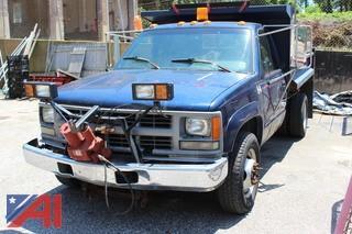 1994 Chevrolet C/K 3500 Dump Truck with Plow