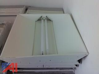 2' x 2' Recessed Fluorescent Ceiling Lights