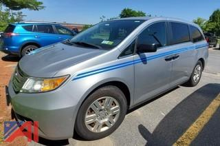 2011 Honda Odyssey Mini Van