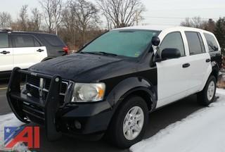 2009 Dodge Durango SUV/Police Vehicle