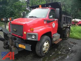 (#16) 2003 Chevy C8500 Dump Truck with Plow and Salter