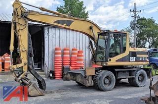 2002 CAT M315 Wheeled Excavator