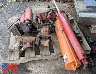 Various Plow & Dump Truck Parts