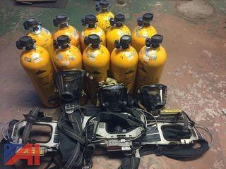 Scott 2.2 Air Packs and Scott Bottles