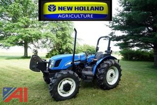 New Holland TN70A 4RM Utility Tractor