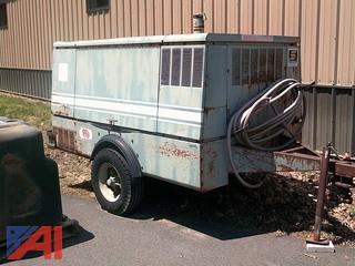 Gardner-Denver Diesel Powered Air Compressor