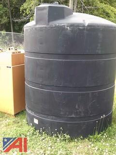 1,000 Gallon Plastic Holding Tank