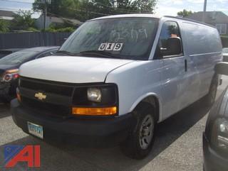2013 Chevy Express 1500 Cargo Van