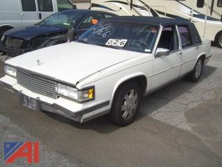 1988 Cadillac Deville Sedan