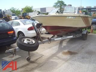1978 Invader Boat with Highlander Trailer
