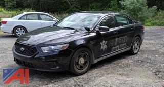 2013 Ford Taurus 4DSD/Police Interceptor