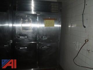 (#116) 4 Door Traulsen Refrigerator