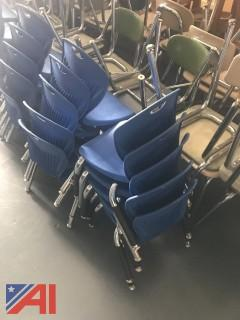 Small Blue Student Chairs