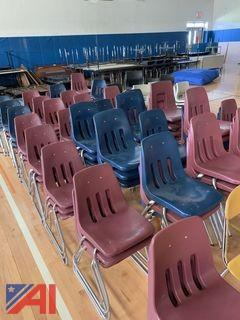Red Student Chairs