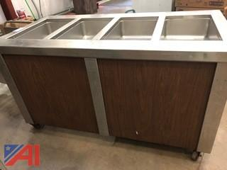 4 Compartment Steam Table