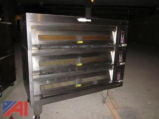 Hobart HBD03 3-Deck Pizza Oven