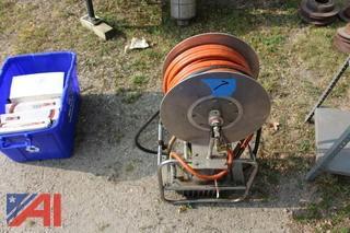 Hurst Hydraulic Reel, Saw Blades, Hurst Tool Tips