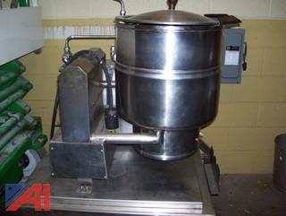 Groen Tilting Tabletop Kettle - 40 qt