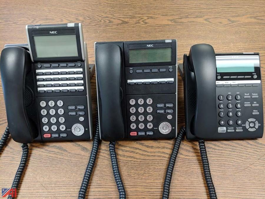 All nec phones
