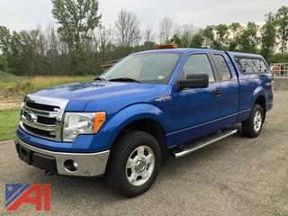 2014 Ford F150 XLT SuperCab Pickup Truck