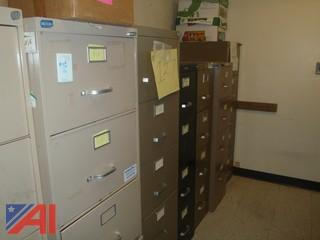 (#127) Filing Cabinets