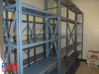 (#128) Metal Shelving