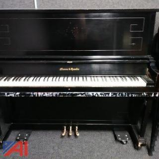 Mason & Hamlin Upright Piano