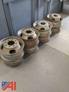 GM 8 Hole Dually Wheels