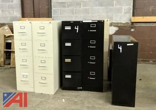 Various Filing Cabinets & Book Shelves