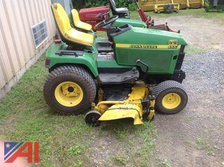 """John Deere 455 Tractor with 60"""" Mower"""