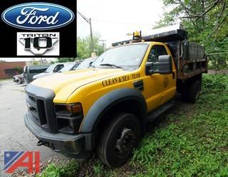 2008 Ford F550 XL Super Duty Dump Truck/CDI-46