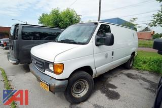 2007 Ford E250 Super Duty Cargo Van/S261