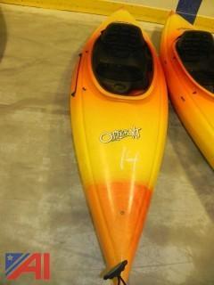 (#14) Old Town Otter XT 9.5' Kayak