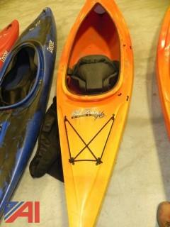 (#5) Old Town Voyager 11' Flat-Water Kayak