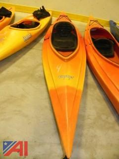 (#4) Old Town Voyager 11' Flat-Water Kayak