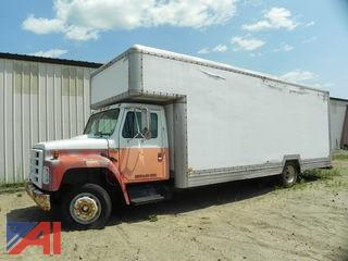 1988 International 1654LP 25' Box Truck