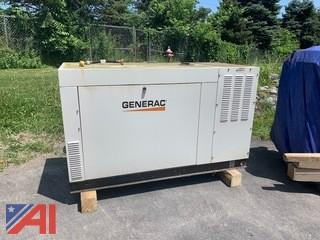 Generac Generator and Transfer Switch