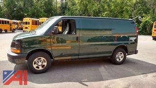 2007 Chevy Express 1500 Cargo Van